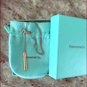 Tiffany's rose gold bar